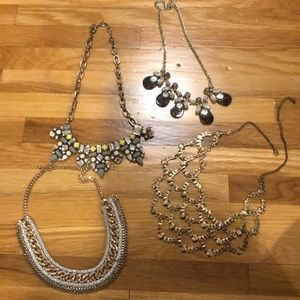 Chunky statement necklaces !